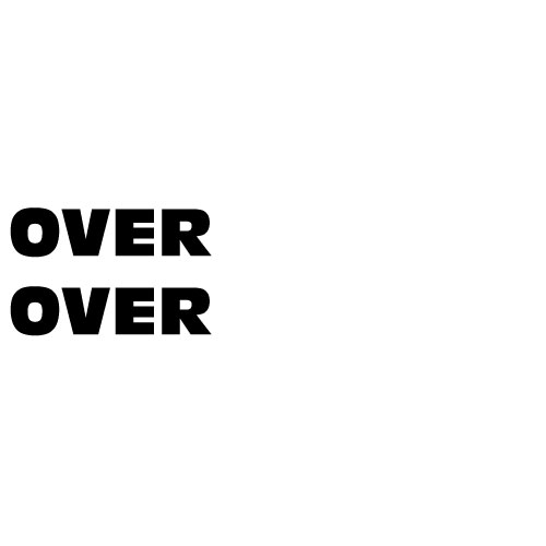 Dingbats Puzzle - Whatzit #109 - OVER OVER