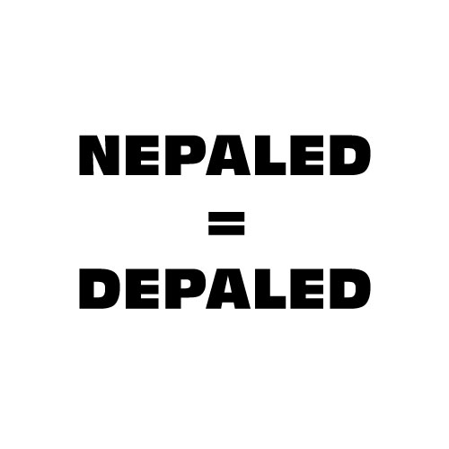 Dingbats Puzzle - Whatzit #261 - NEPALED = DEPALED
