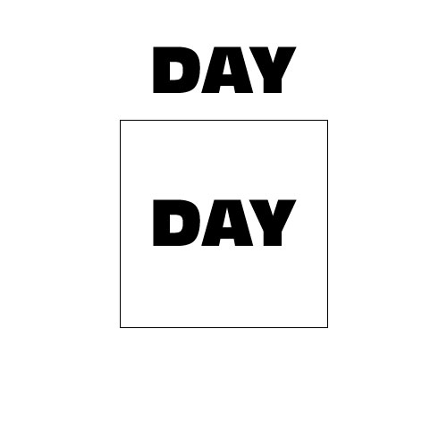 Dingbats Puzzle - Whatzit #297 - DAY BOX DAY