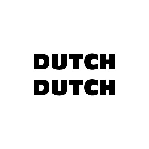 Dingbat #301 DUTCH DUTCH