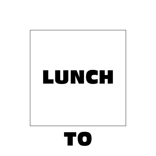 Dingbat Puzzle #342 - Whatzit Rebus - LUNCH TO