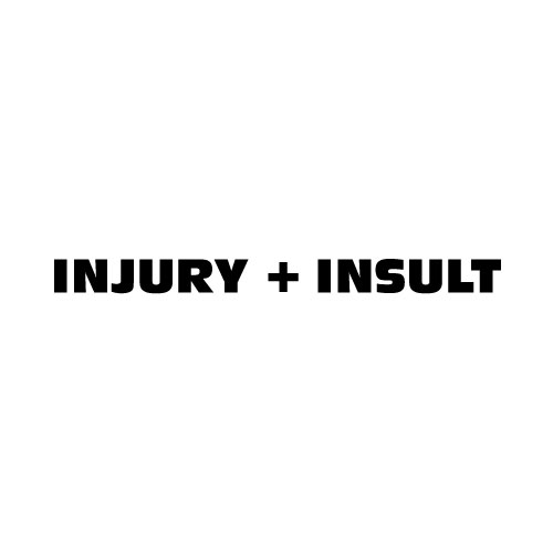 Dingbats Puzzle - Whatzit #35 - INJURY + INSULT