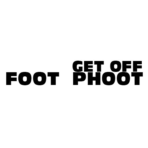 Dingbats Puzzle - Whatzit #659 - FOOT GET OFF PHOOT
