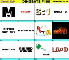 Dingbat Game #100