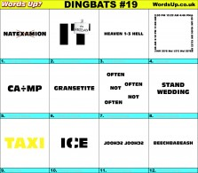 Dingbat Game #19