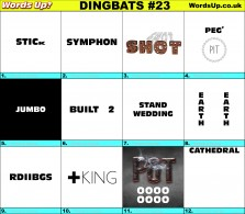 Dingbat Game #23