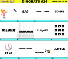 Dingbat Game #24
