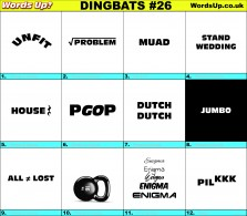 Dingbat Game #26