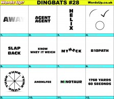 Dingbat Game #28