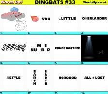 Dingbat Game #33