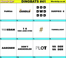 Dingbat Game #41