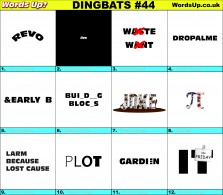 Dingbat Game #44