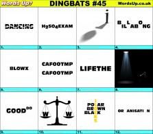 Dingbat Game #45