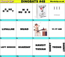 Dingbat Game #48
