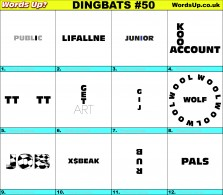 Dingbat Game #50
