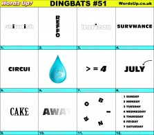Dingbat Game #51
