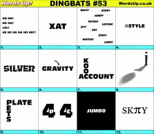 Dingbat Game #53