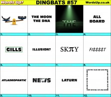 Dingbat Game #57