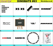 Dingbat Game #63
