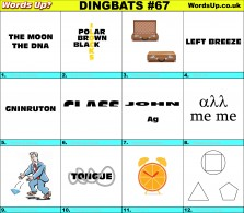Dingbat Game #67