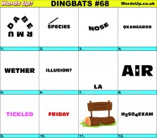 Dingbat Game #68