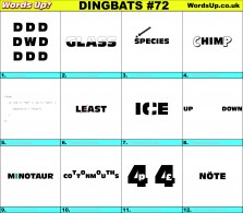 Dingbat Game #72