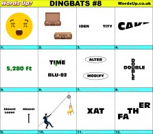 Dingbat Game #8