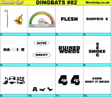 Dingbat Game #82