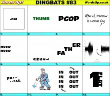 Dingbat Game #83