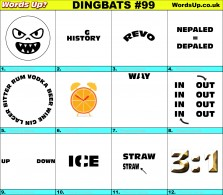 Dingbat Game #99